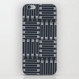 Crayon Pattern 3 iPhone Skin