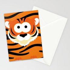 Minimal Tiger Stationery Cards