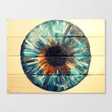 BERYL BLUE IRIS Canvas Print