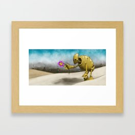 'Dem Days Are Gone Framed Art Print