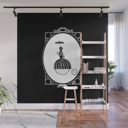 Mrs Farthing Wall Mural