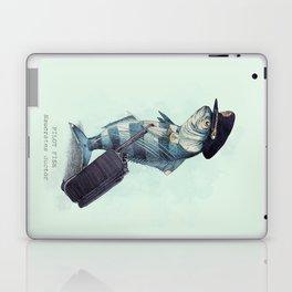 The Pilot (colour option) Laptop & iPad Skin
