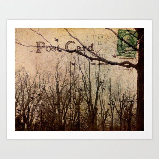 Address Unknown Art Print