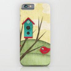 Shabby Sweet Tweet On The Hillside iPhone 6s Slim Case