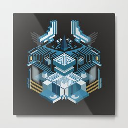 Island of the Lambent Moon Metal Print