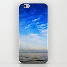Blue Skies Over The Bay iPhone Skin