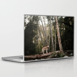 Husky in Forest Laptop & iPad Skin