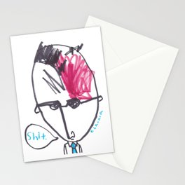 Oh Shit Stationery Cards