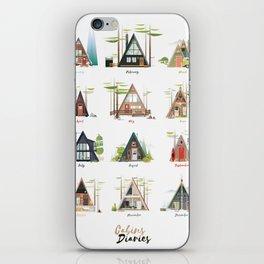 Cabins Diaries iPhone Skin