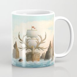 The Antlered Ship - Jacket Coffee Mug