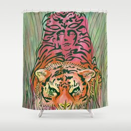 Prowler Shower Curtain