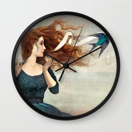 The Little Thief Wall Clock