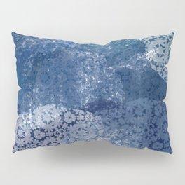 Shibori Lace Collage Pillow Sham