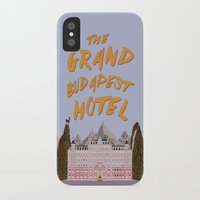 the grand budapest hotel iPhone & iPod Cases featuring THE GRAND BUDAPEST HOTEL by Kaitlin Smith
