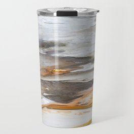 Yellowstone National Park - Thermophiles, Norris Geyser Basin Travel Mug