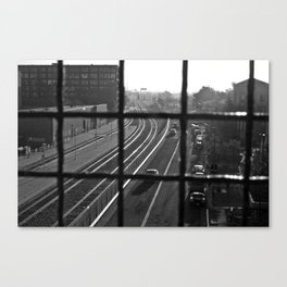 Dirty Oakland Canvas Print