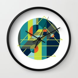 Scenarios, No. 1 on White Wall Clock