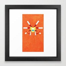 Medabots - WarBandit Framed Art Print
