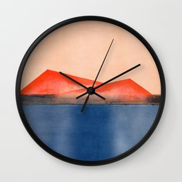 Minimal Landscape 12 Wall Clock