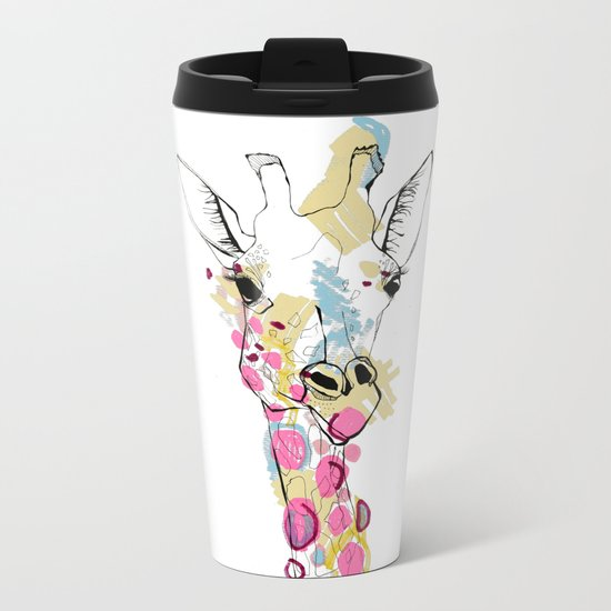 G-raff colour Metal Travel Mug