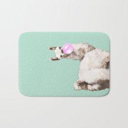 Baby Llama Blowing Bubble Gum Bath Mat