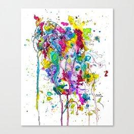 Stung Canvas Print