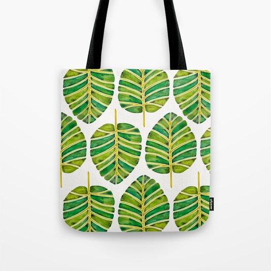 Elephant Ear Alocasia – Green Palette Tote Bag