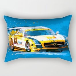 GT3 Series Race Car Rectangular Pillow