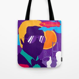 James Bond Golden Era Series :: View to a Kill Tote Bag