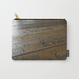 Ruler Desk Carry-All Pouch