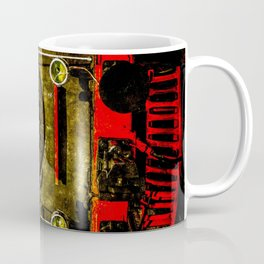 Vintage Steam Engine Locomotive - Heavy-Duty Coffee Mug