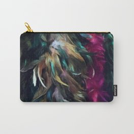 Girls Night Out Feather Boas Carry-All Pouch