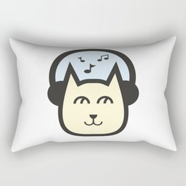 Cute Cat #society6 #decor #buyart #artprint Rectangular Pillow