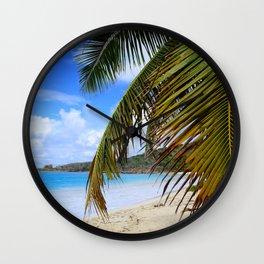 Leaf Me Here Wall Clock