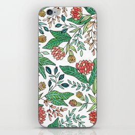 Wildflower Pattern - Full Color iPhone Skin
