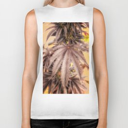 Totally Dope marijuana plant photo weed leaf Biker Tank