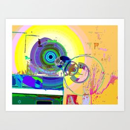 Modification N° 8 Art Print