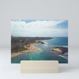 sand bar Mini Art Print