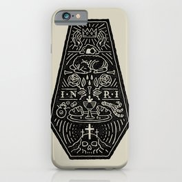 Death is Defeated (Alternate) iPhone Case