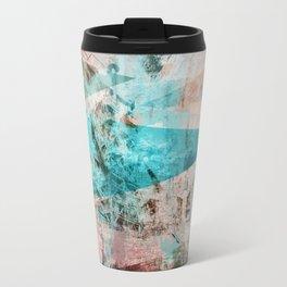 Industrial Blue Travel Mug