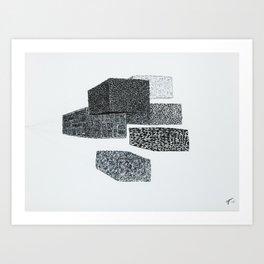 Volumes Art Print