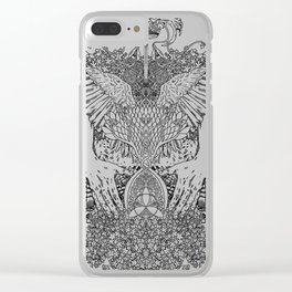 The Ravenous Clear iPhone Case
