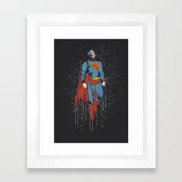 Super Speed (Superman) Framed Art Print