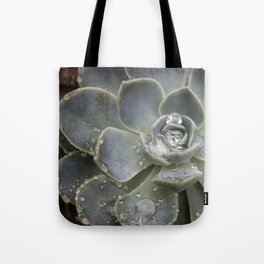 Desert Rose Water Drops Tote Bag