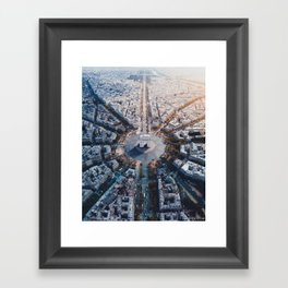 Architecture of Paris Framed Art Print