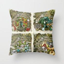 Alice of Wonderland Series 2 Throw Pillow