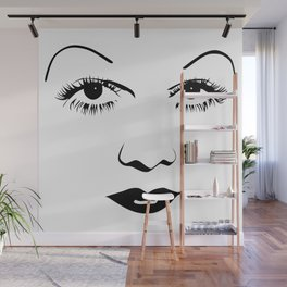 Old Hollywood - Jean Harlow Wall Mural