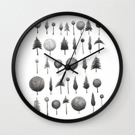Arbor Vitae Wall Clock