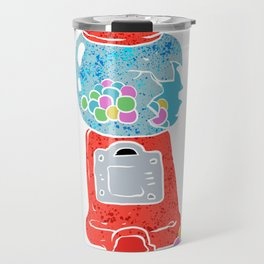 Bubble gum machine. Travel Mug