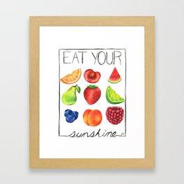 Vitamin D Framed Art Print